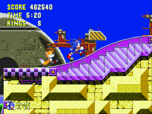Sonic the Hedgehog 3 - 462,540 points...i pwned u - User Screenshot